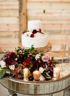 Deep Red & Purple Fairytale Wedding Inspiration - Inspired By This