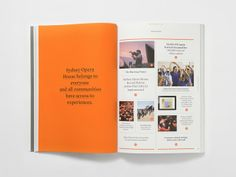 Magazine Design Inspiration - MagSpreads: Sydney Opera House Annual Report - Naughtyfish
