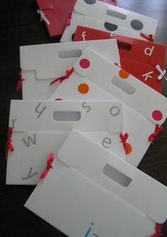 kids artwork folders