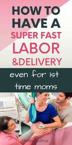 Are you looking for ways to safely and naturally have a faster labor? Even if you're a 1st time mom, these tips have got you covered! Read during pregnancy (while you're still pregnant) to find out how to have a super fast labor! Find out how to speed up childbirth, labor and delivery. #labor #childbirth #delivery #baby #mom Third Pregnancy, Pregnancy Must Haves, Pregnancy Advice, Pregnancy Signs, Pregnancy Workout Videos, 1st Time Moms, Advice For New Moms, Preparing For Baby, Breastfeeding