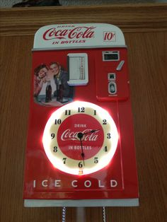 New Coca Cola clock.