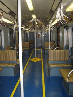 H. Browne Photography. Brooklyn, NY MTA Museum. An old subway car.