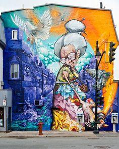 20 murales increibles de artistas callejeros