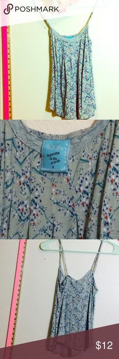 HIP pattern tank Tank top size S - great fit - no damage or stains Nordstrom Tops Tank Tops