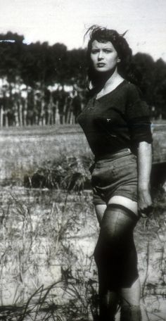 Riso Amaro, I 1949, Silvana Mangano.