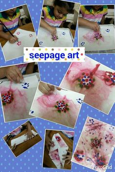 #SeepageArt #WaterColours