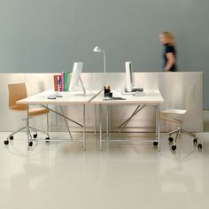 Egon #Eiermann 1 Tischgestell Tischplatte weiß