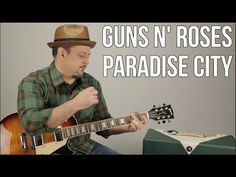 Guns N' Roses - Paradise City - How to Play on guitar - Guitar Lesson tutorial - YouTube