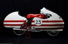 1955 Ducati 125 Grand Prix racer.