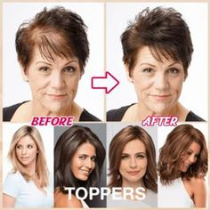 Ladies Silky Clip-On Hair Topper Colors Short Straight Hair Wig Full Wigs Cap/ Brown To Blonde, Light Blonde, Dark Brown, Wig Hairstyles, Straight Hairstyles, Extensions For Thin Hair, Clip In Hair Pieces, Curly Hair Styles, Natural Hair Styles