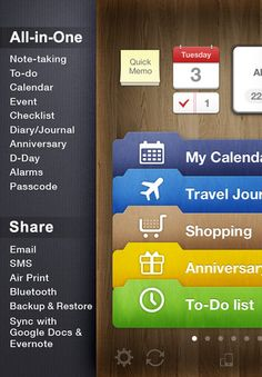 Awesome Note app.  Apple App Store.
