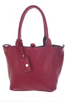 Bags :: Lily Reversible Shoulder Bag Raspberry & Black - The Redletter Club $99.99