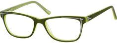 GreenAcetate Full-rim Frame With Spring Hinges