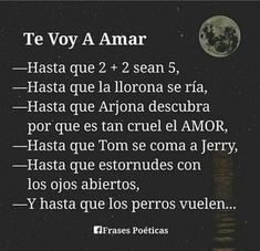 Frases Love, Love Phrases, True Feelings, Sweet Words, Love You, My Love, Love Messages, Spanish Quotes, Me As A Girlfriend