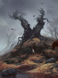 ArtStation - Tree monster, Nicholai Litvinenko