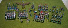 Keith's Wargaming / Painting Blog: Army Focus - Warhammer High Elf Army