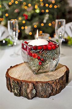 25 Elegant Christmas Party Table Decorations Ideas - Gifts and Costume Ideas for 2020 , Christmas Celebration Christmas Wedding Centerpieces, Christmas Party Table, Winter Wedding Decorations, Rustic Centerpieces, Party Table Decorations, Christmas Decorations, Winter Centerpieces, Winter Weddings, Centerpiece Ideas