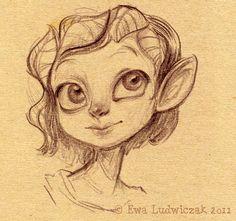 fairy sketch