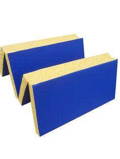 Robust, abwaschbare Oberfläche mit feiner Musterstruktur  Material: Das Innenfutter besteht aus einem hochwertigen Schaumstoff mit erhöhter Dichte.  Die Verwendung dieses Schaumstoffes verleiht der Matte Weichheit und trotzdem den nötigen Schutz beim Fallen. Die Oberfläche besteht aus hochwertigem Kunstleder, hautfreundlich abwaschbar, speichelfest  FCKW-frei   Farbe: Blau/Gelb, Gelb/Blau
