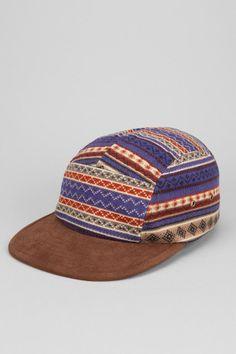 Rosin Fair Isle Print 5-Panel Hat