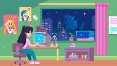 "Pierre Bourne x Playboi Carti Type Beat 2018 ""fellouttaluv + peshow**"" [Prod. 8 Bits, Pixel Kawaii, Tumbrl Girls, Anime Pixel Art, 8bit Art, Gifs, Vaporwave Art, Pixel Art Games, Gif Collection"