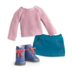 American Girl - Sparkle Sweater Outfit for Dolls - Truly Me 2015