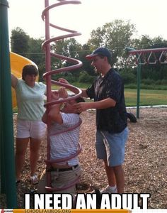 this is why there should be size limits on playgrounds