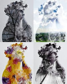 "How to create a ""double exposure"" in Photoshop."