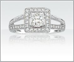 SKU: 6010172\n  	Briana - Over 1ct T.W. Diamond Engagement Ring Rodgers and Hollands