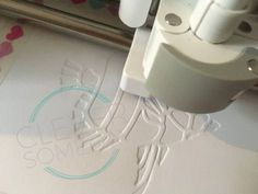 Get great looking flat embossing from your Cricut Explore or Maker with this exciting new technique. An video overview of the process along with a free Design Space File will get you started.