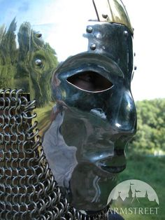 slavic-cone-helm-helmet-armor-with-face-mask-visor-2.jpg (600×800)