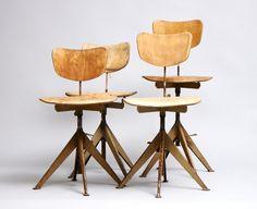 industrial vintage chair