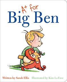 """(Pajama Press) If only Ben were old enough to get a report card with grades and comments like his older siblings, then he would feel """"big"""" indeed."""