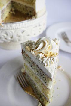 Lemon Poppy Seed Cake + Icing How-to | Poppytalk