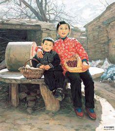 Welcoming The Spring Wang Sheng Li (1951, Chinese)