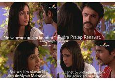 Rudra & Myrah 42 #SensizOlmaz #Rangrasiya