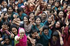 Great job, ladies! Bangladesh: Despite Obstacles, Girls Outshine Boys in National Exams · Global Voices