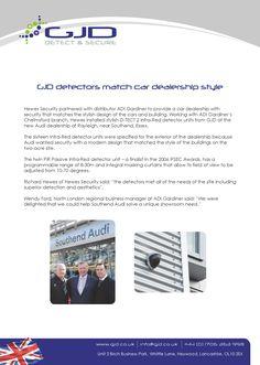 Prestigious property development features gjds d tect 3 wired gjd detectors match car dealership style cheapraybanclubmaster Gallery
