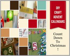 Make Your Own Recycle Advent Calendar Green Christmas, Christmas Holidays, Christmas Crafts, Christmas Decorations, Christmas Ideas, Recycled Crafts, Diy And Crafts, Diy Advent Calendar, Calendar Ideas