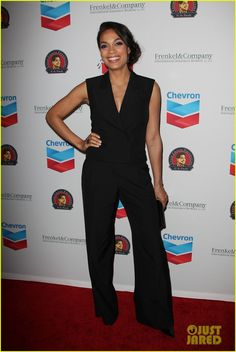 america ferrera rosario dawson go see cesar chavez 01 America Ferrera and Rosario Dawson hit the red carpet while attending the Cesar Chavez Foundation's 2014 Legacy Awards Dinner on Thursday (March 27) at the Millenium…