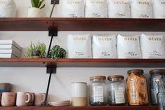 Never Coffee In Portland Is An Aesthetic Dream Of Modern Design – Bar Stools Furniture Restaurant Kitchen Equipment, Restaurant Bar, Clean Design, Modern Design, Coffee Lab, Coffee Shop Design, Thinking Outside The Box, Modern Spaces, Modern Minimalist