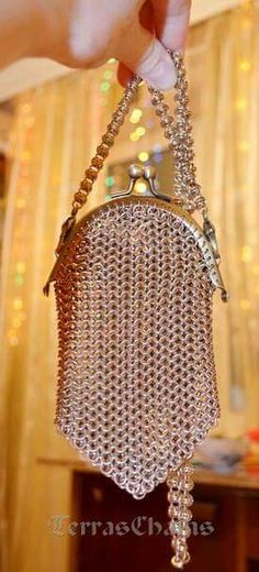 #Chainmaille purse