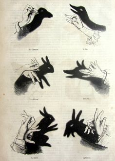 VIntage french 1861  shadow puppets print, antique original chinese shadow puppetry engraving, ombres chinoises illustrations, shadow play. on Etsy, $22.00