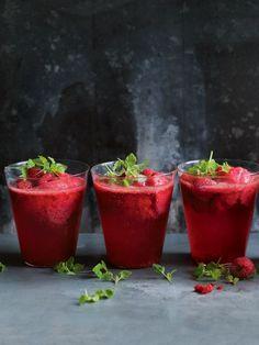 Raspberry Sorbet Cha