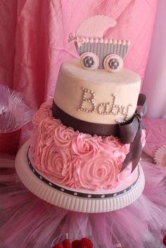 12 ideias para decorar um bolo para chá de bebê - Amando Cozinhar - Receitas, dicas de culinária, decoração e muito mais!