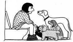 """Momentos """"íntimos"""" que todo aquel que tiene un perro conoce... (humor sobre perros) / Intimate moments with your dog... (dog jokes). Mediterranean Natural"""