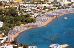 Falikari is the most popular beach in Rhodes