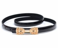 This waist belt crafted in PU, featuring a slim cut, butterfly decoration buckle fastening to front. Make a collection from spenditonthis.com