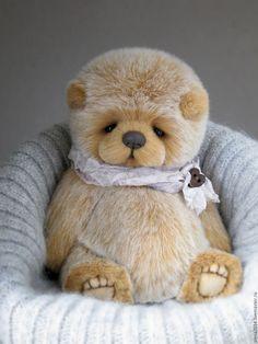 Fluffy Teddy Bear, Cute Teddy Bears, Teddy Pictures, Antique Teddy Bears, Bear Character, Handmade Stuffed Animals, Teddy Toys, Charlie Bears, Needle Felted Animals