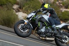 Kawasaki finally answers the naked bike competition in the middleweight class with its awesome new Z650 street bike and we give it a review.